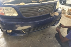 Lightning bumper repair