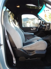 Old Interior with Suede Headliner