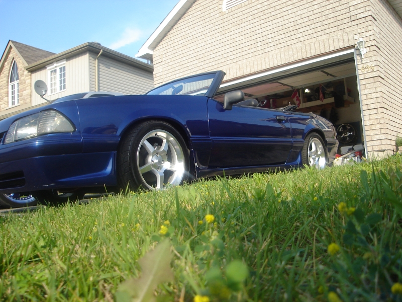 1989 Mustang Convertible Sonic Blue