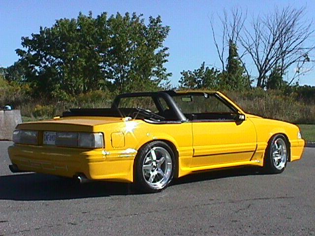 1988 Mustang GT Converted to DECH