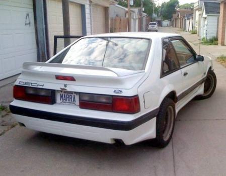 1988 DECH Mustang