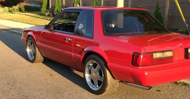 Foxbody Mustang Middle East